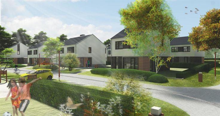 't Parcje - Roermond, prijs €215.000,- tot €337.000,-, woonoppervlakte 127 m² tot 167 m². Op een prachtige locatie op het hoogste punt van Roermond, direct grenzend aan de bosrand van villapark Kitskensdal, komt nieuwbouwwijk 't Parcje. De woningen die worden gerealiseerd zijn nagenoeg energieneutraal en worden zeer compleet geleverd. Zo is de keuken 'kookklaar' en de tuin 'parasolgereed'. Bezoek ook de projectwebsite www.parcje.nl.