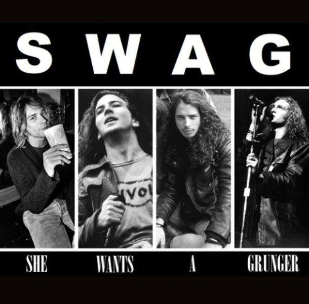 Pics Photos - Kurt Cobain Eddie Vedder Chris Cornell Or Layne Staley Who Was The