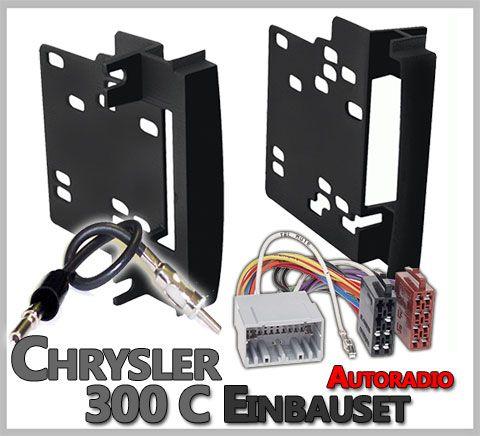 car-hifi-radio-adapter.eu Warum sollte man das Chrysler 300C Autoradio Einbauset 2008-2010 2 DIN verwenden. Das Fahrzeug ist mit einen dem Armaturenbrett angepassten Werksradio bestückt, dieses gibt es in verschiedenen Vers…