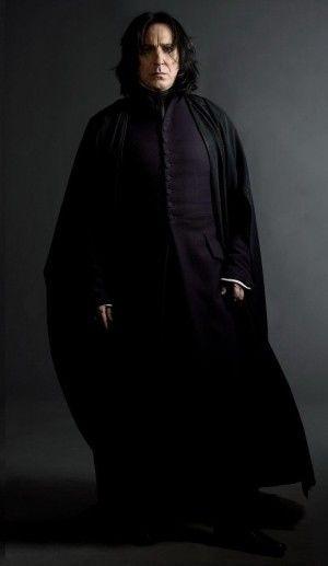 漆黒の黒が似合う!セブルス・スネイプ☆