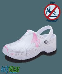 Mujer Anywear Zona Rosa Flor Zueco   Slip zapatos resistentes