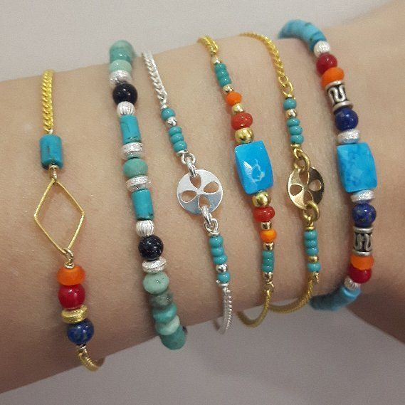 More bracelet with gold filled or Silver sterling gemstone. Des petits bracelets plaqué or ou plaqué argent inoxydable et pierre semi précieuse #picoftheday #new #jewelry #bijoux #fashion #madeinfrance #handmadejewelry #instalove #instamood #instadaily #instagood #blogger #girl #summer