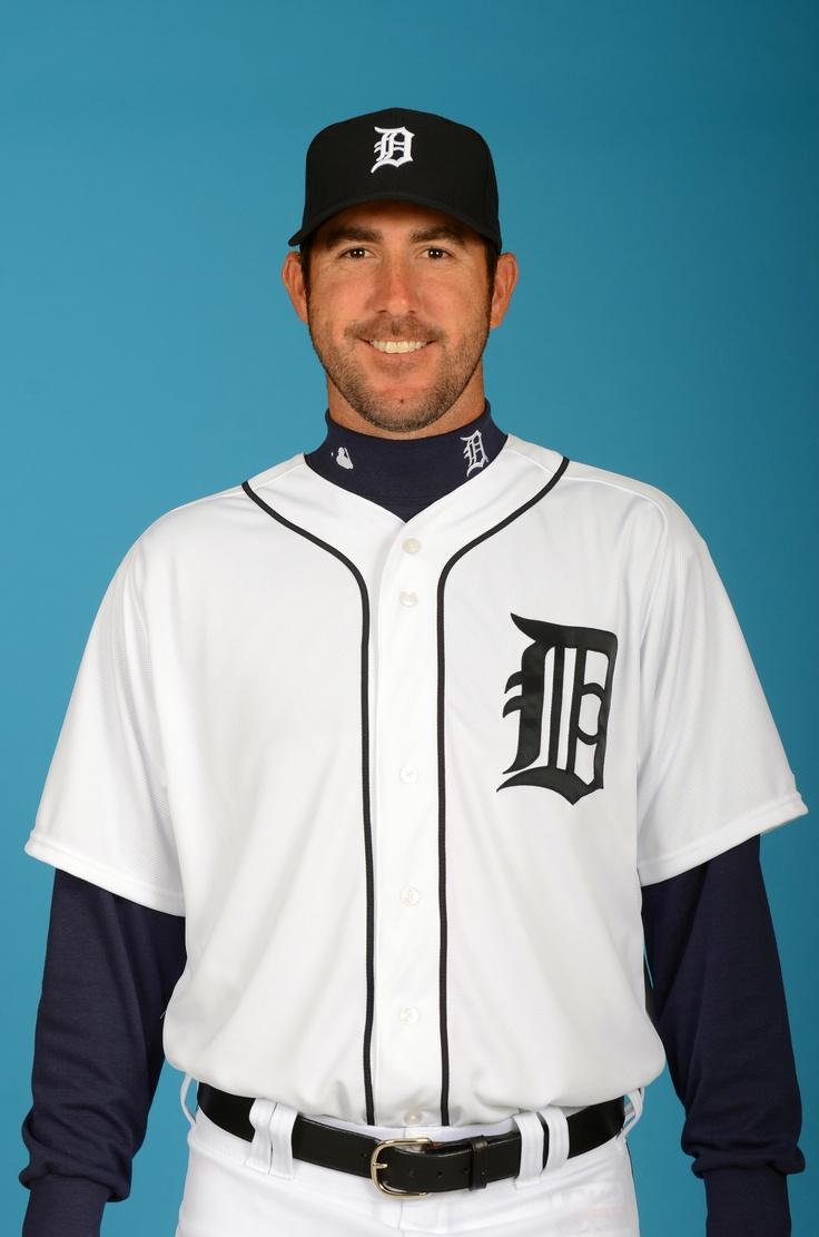 Justin Verlander =  :D  (Tigers have their own Pinterest site!!!)