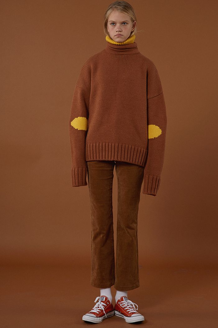 ADERerror Contemporary Minimalism Color FW15/16 Collection Knitwear Styling