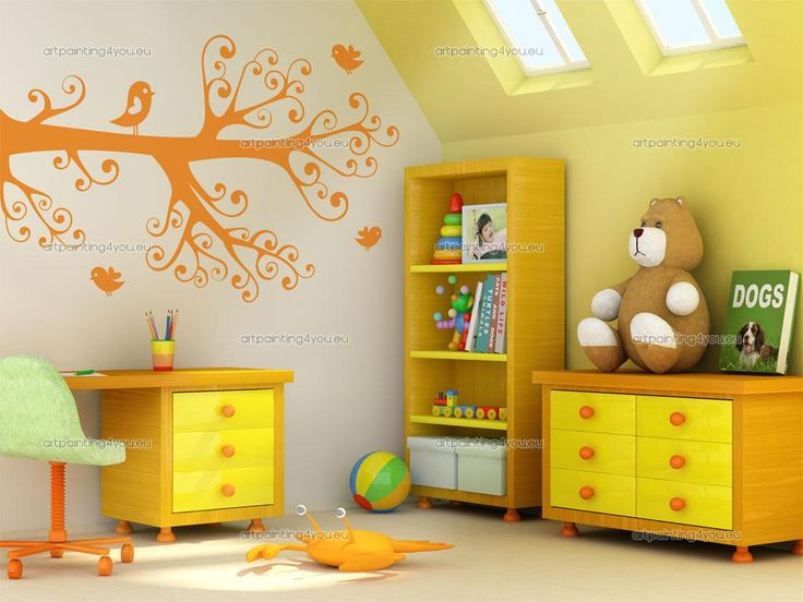 Best Flower Wall Decals Images On Pinterest Flower Wall - Yellow flower wall decals