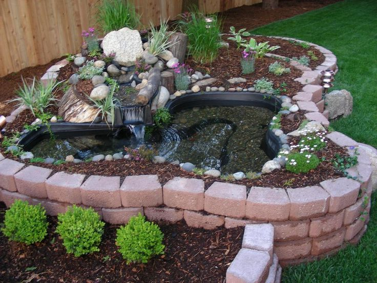 25 best ideas about above ground pond on pinterest fish for Bill garden designs