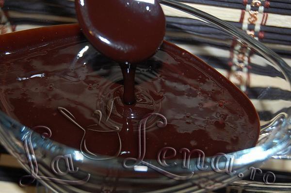 Sos de ciocolata - Pas 5