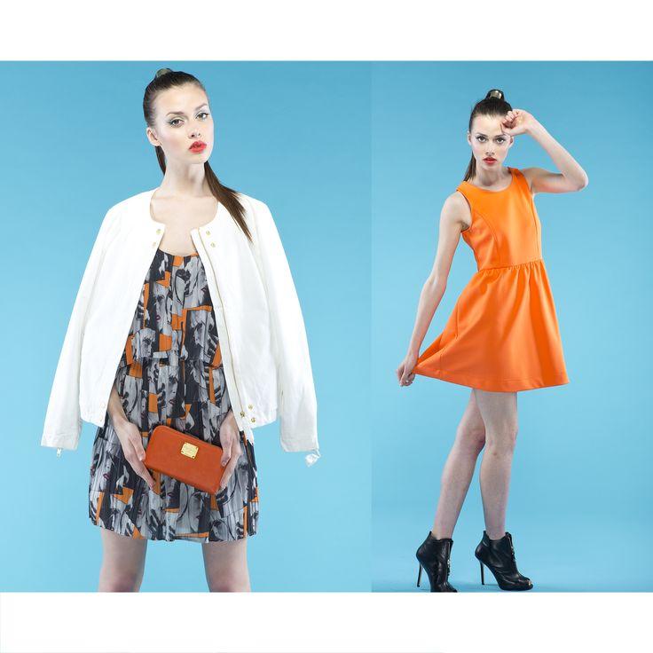 Dresses on sale-60%  #brandpl #onlinestore #online #store #shopnow #shop #fashion #women #womencollection #sale #wyprzedaz #dress #dresses #upto60 #camila #andywarhol #multi #regular #alexia #brightorange