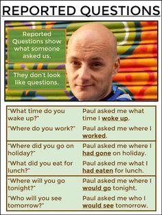 AskPaulEnglish: REPORTED SPEECH