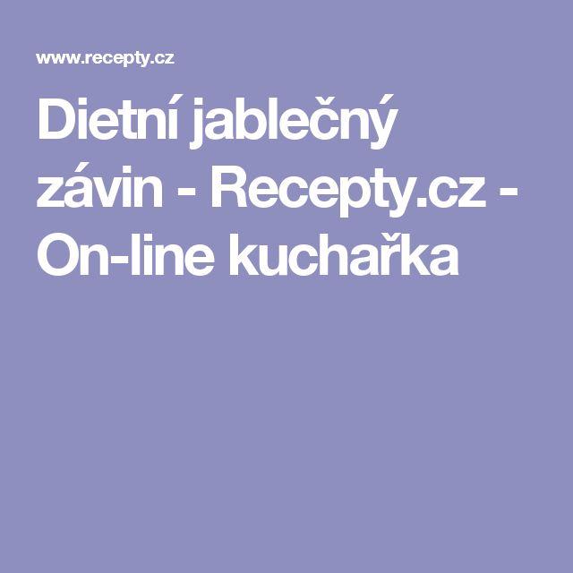 Dietní jablečný závin  - Recepty.cz - On-line kuchařka