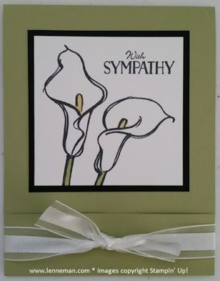 Remarkable You Tin Of Cards Teeny Tiny Wishes Sympathy- Dena Lenneman, Stampin' Up! Demonstrator