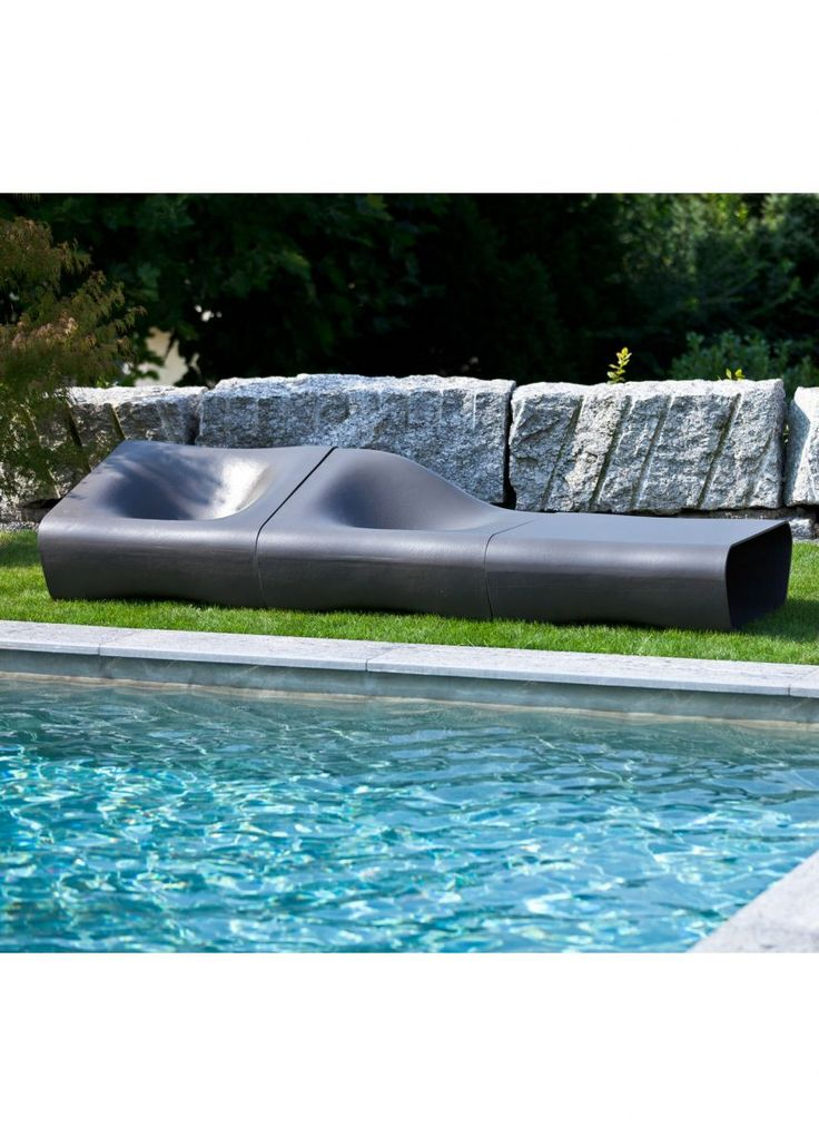 dune outdoor furniture. dune centre and left seats table anthracite outdoor furniture t