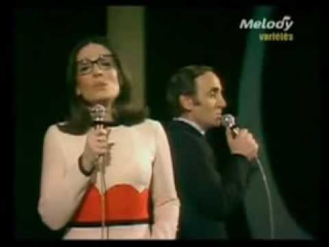 Nana Mouskouri & Charles Aznavour - Popurri - YouTube