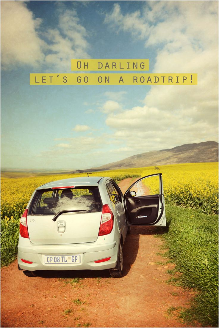 Lets go on a roadtrip! :)