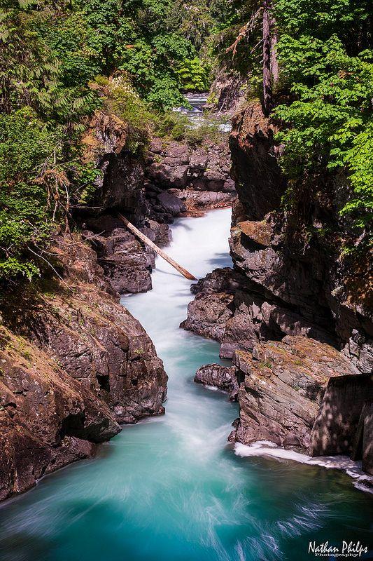 'Stamp River Falls' in  Port Alberni, BC