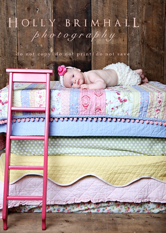 Princess And The Pea Baby Photography Ideas Photo Inspiration