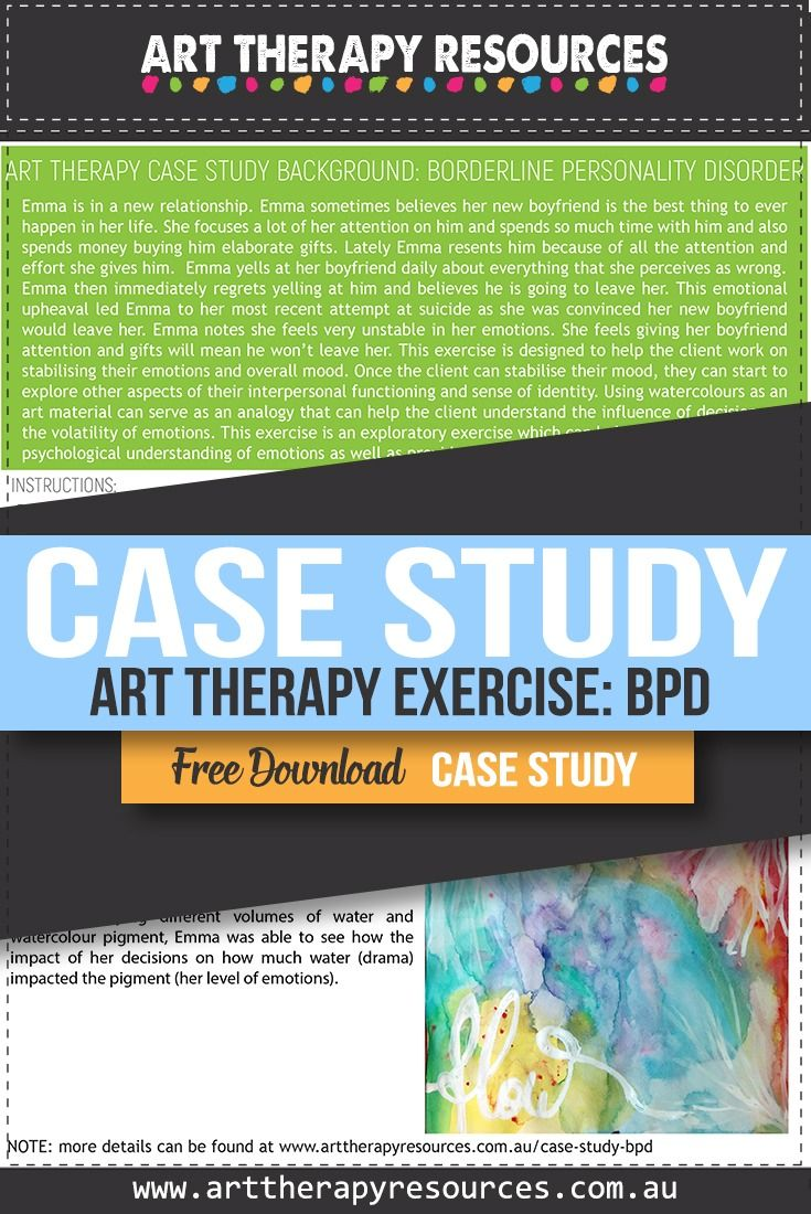 Case Study: Art Therapy for a Client with Borderline