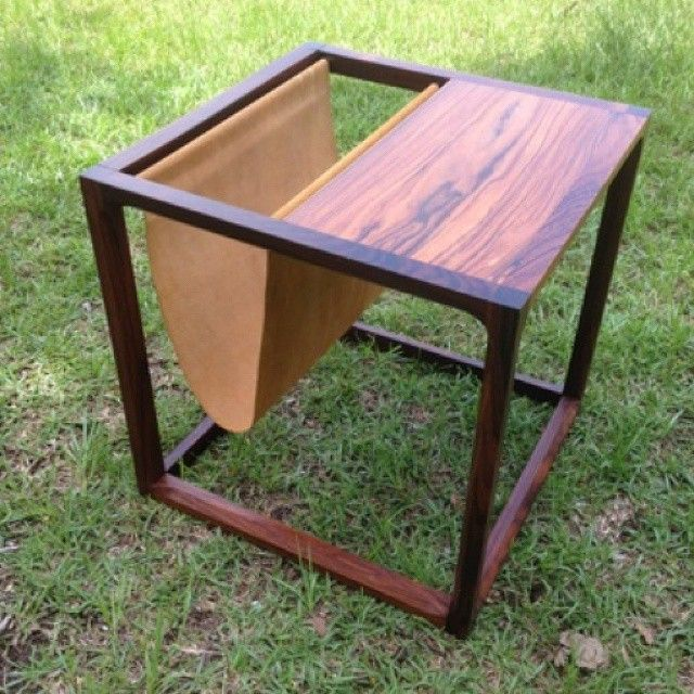 Amazing MidCentury magazine rack table. Call 850/224-6666. #midcentury #table #magazine #tallahassee #tally