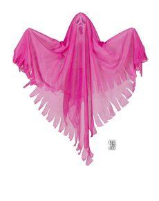 Fantasma cor-de-rosa fluorescente
