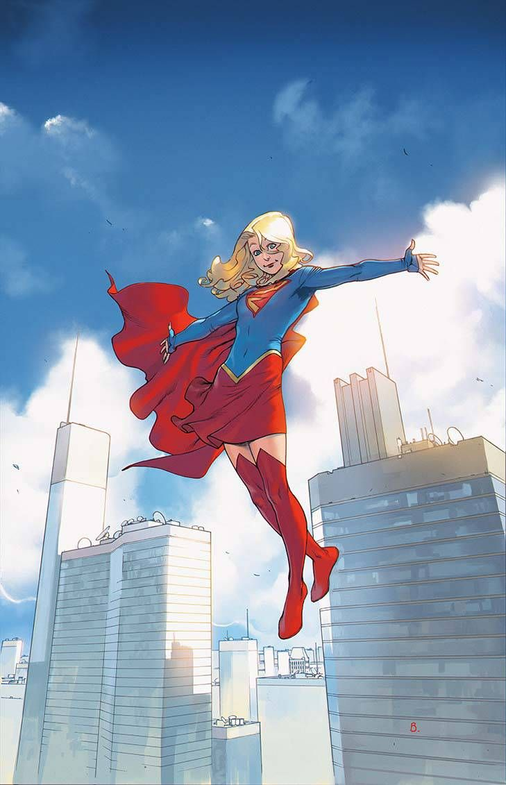 Supergirl by Bengal                                                                                                                                                                                 Plus