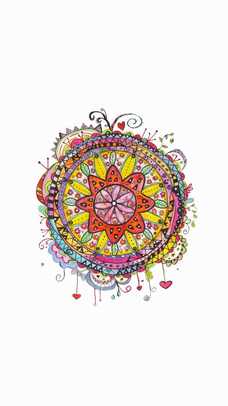 8 besten Mandala Bilder auf Pinterest | Mandalas, Hintergrundbilder ...
