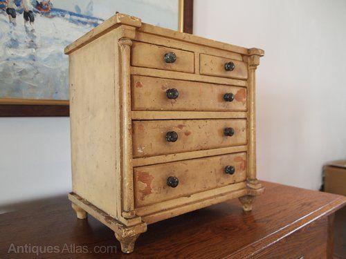 Chest Of Drawers Rare Miniature Apprentice Chest - Antiques Atlas