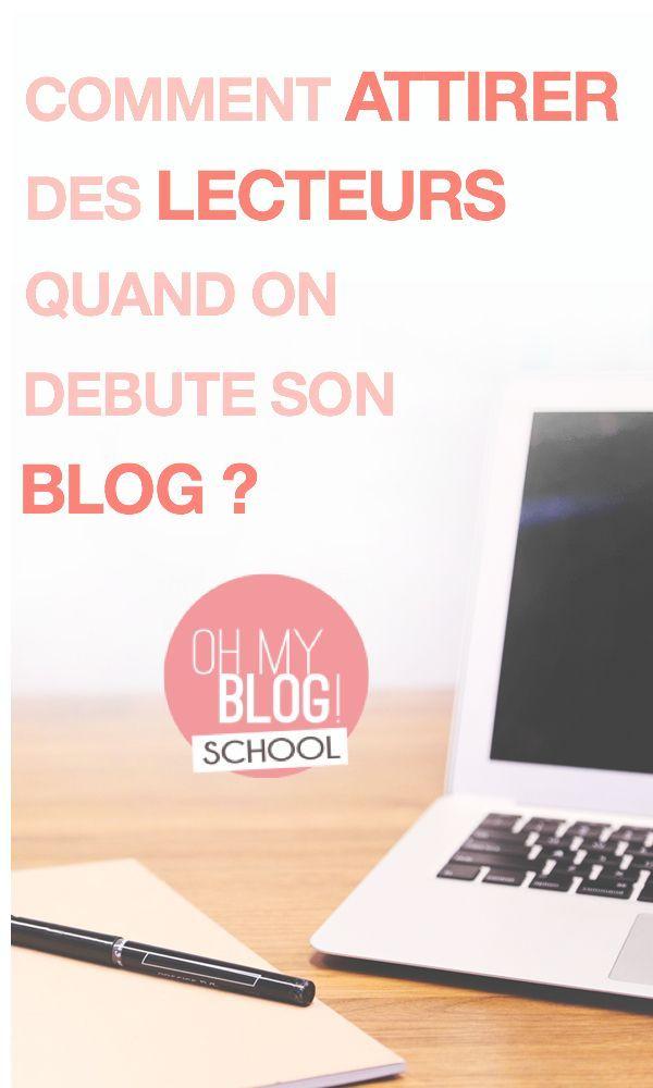 """""""Comment attirer des lecteurs quand on débute son blog ?"""". Toutes les astuces pour construire sa communauté et son trafic quand on débute sur la blogosphère, c'est au programme sur Blogschool.fr !"""
