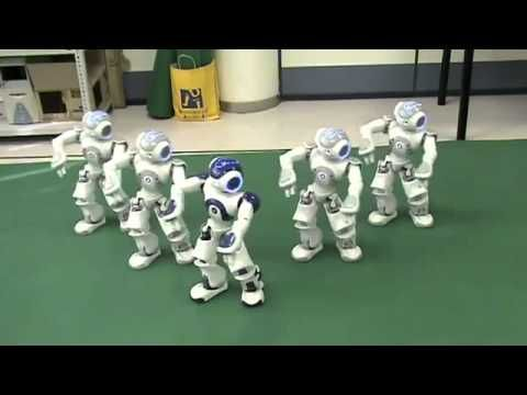 ▶ NAO Robots Thriller Dance - YouTube
