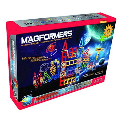 Magformers Magnets in Motion 300 Piece Power Set