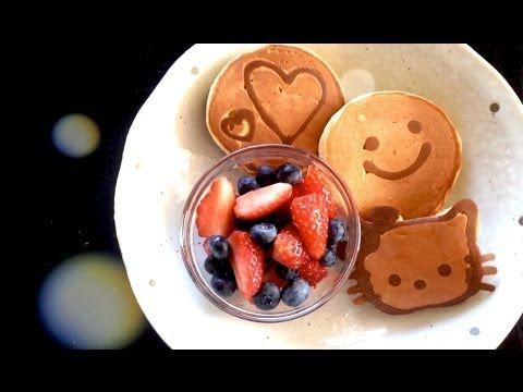 20 best pancake art images on pinterest breakfast recipes for pancake art super easy youtube ccuart Gallery