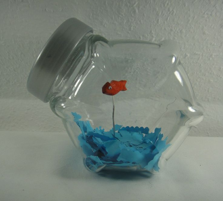 die 25 besten goldfisch im glas ideen auf pinterest. Black Bedroom Furniture Sets. Home Design Ideas