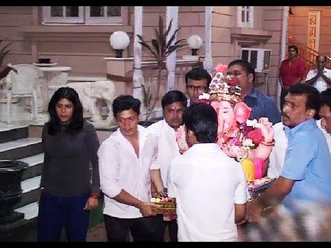Ekta Kapoor's Ganpati Visarjan | Ganesh Chaturthi 2014.