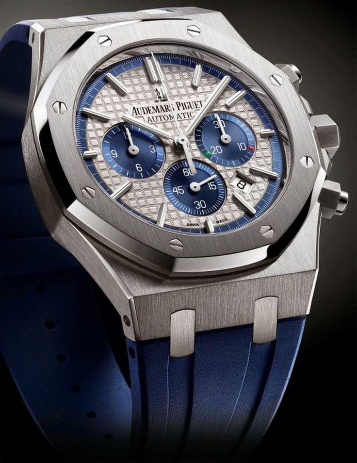 "Master Horologer: Audemars Piguet Royal Oak Chronograph ""Italy Limited Edition"""