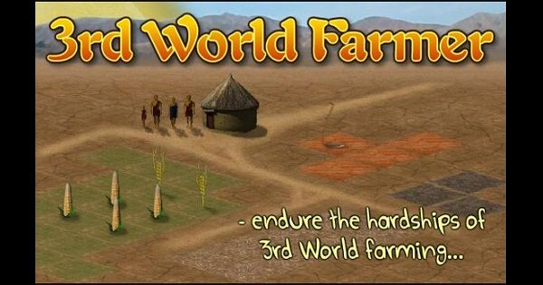 A free online game about rural poverty in developing nations. The official 3rd World Farmer website.