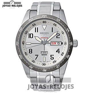 ⬆️😍✅ Seiko Seiko 5 Sports 😍⬆️✅ Colosal ejemplar perteneciente a la Colección de RELOJES SEIKO ➡️ PRECIO 201.94 € Lo puedes comprar en 😍 https://www.joyasyrelojesonline.es/producto/seiko-seiko-5-sports-reloj-de-automatico-para-hombre-con-correa-de-acero-inoxidable-color-plateado/ 😍 ¡¡Ofertas Limitadas!! #Relojes #RelojesSeiko #Seiko