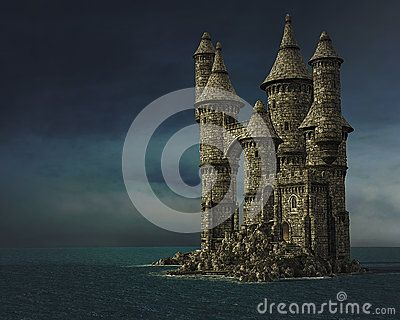 Fantasy Castle - Download From Over 41 Million High Quality Stock Photos, Images, Vectors. Sign up for FREE today. Image: 67748412