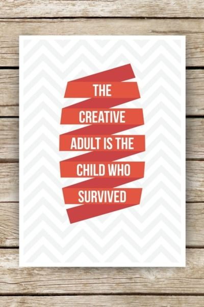 we will survive.: Food For Thoughts, Young At Heart, I Survival, So True, Child Life, Inner Child, True Stories, Creative Quotes, Creative Adult