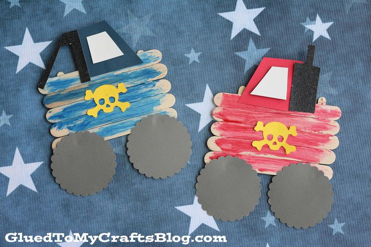 Calling all my MONSTER TRUCK lovers! Inspired by my son's recent obsession and his first experience at a monster truck show – today I present to you our Popsicle Stick Monster Trucks Kid Craft idea! Perfect for any boy {or girl} to make and it makes for awesome decor too! So what are you waiting …