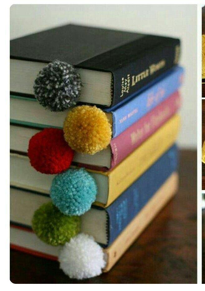 Yarn Ball Bookmarks Set of 5 @ Rs. 199