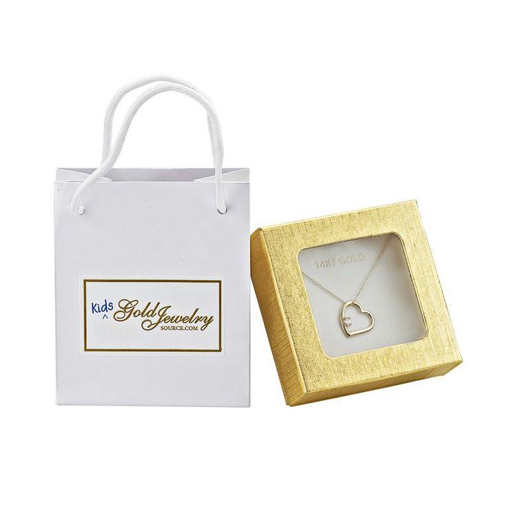 14k White Gold Children's Medium Cross Necklace.