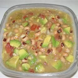 Texas Caviar with Avocado Dip! | food | Pinterest