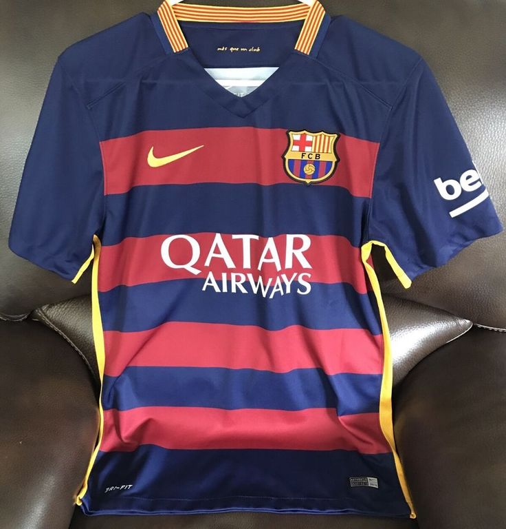 New Authentic FC Barcelona Match Jersey Small #Nike