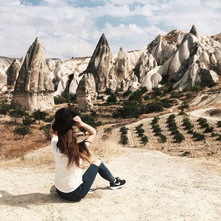Mountains Turkey,girl. Instagram @anyaklyueva