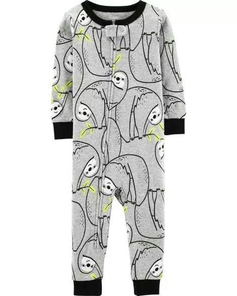 1affc33cf Carter s 1-Piece Sloth Snug Fit Cotton Footless PJs 12.00MSRP ...