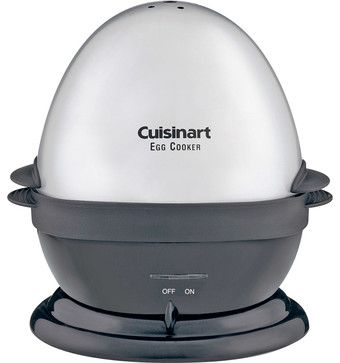 Cuisinart Brushed Stainless Steel Egg Cooker - contemporary - small kitchen appliances - HPP Enterprises