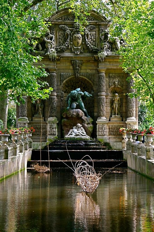 Medici Fountain, Paris: