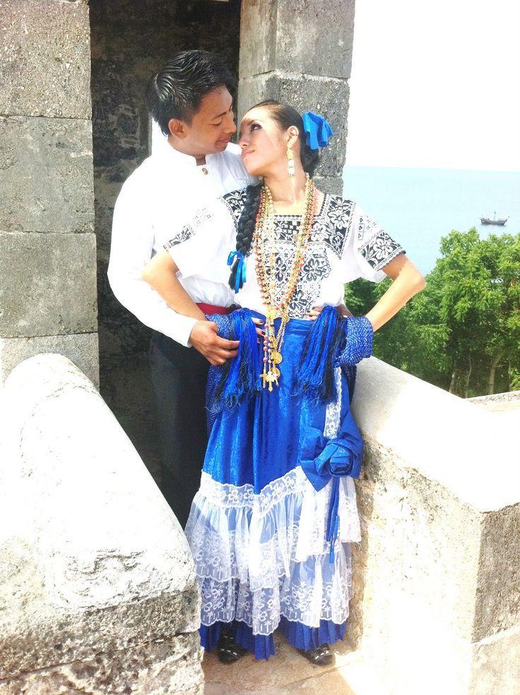 Traje típico de la zona de Campeche - México