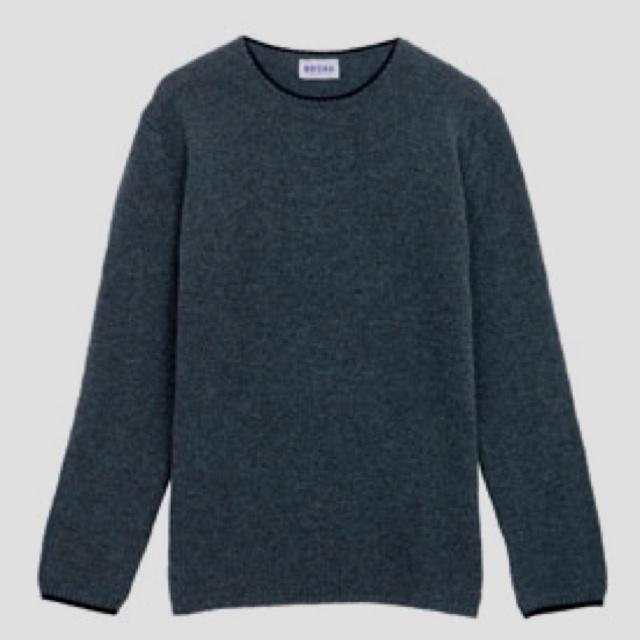 Men's grey cashmere - Brora
