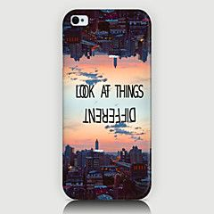 Urban Landscape Pattern Back Case for iPhone5/5s