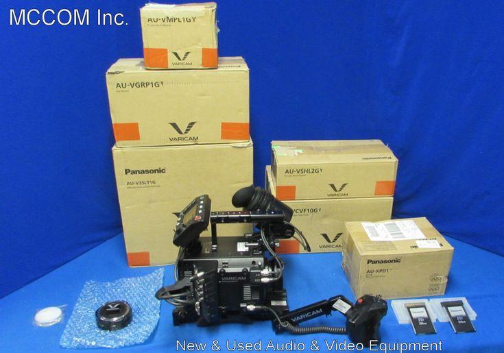 Panasonic AU-V35LT1G 4K Varicam LT PROEX-A Digital Cinema Camera Demo w/349 hrs